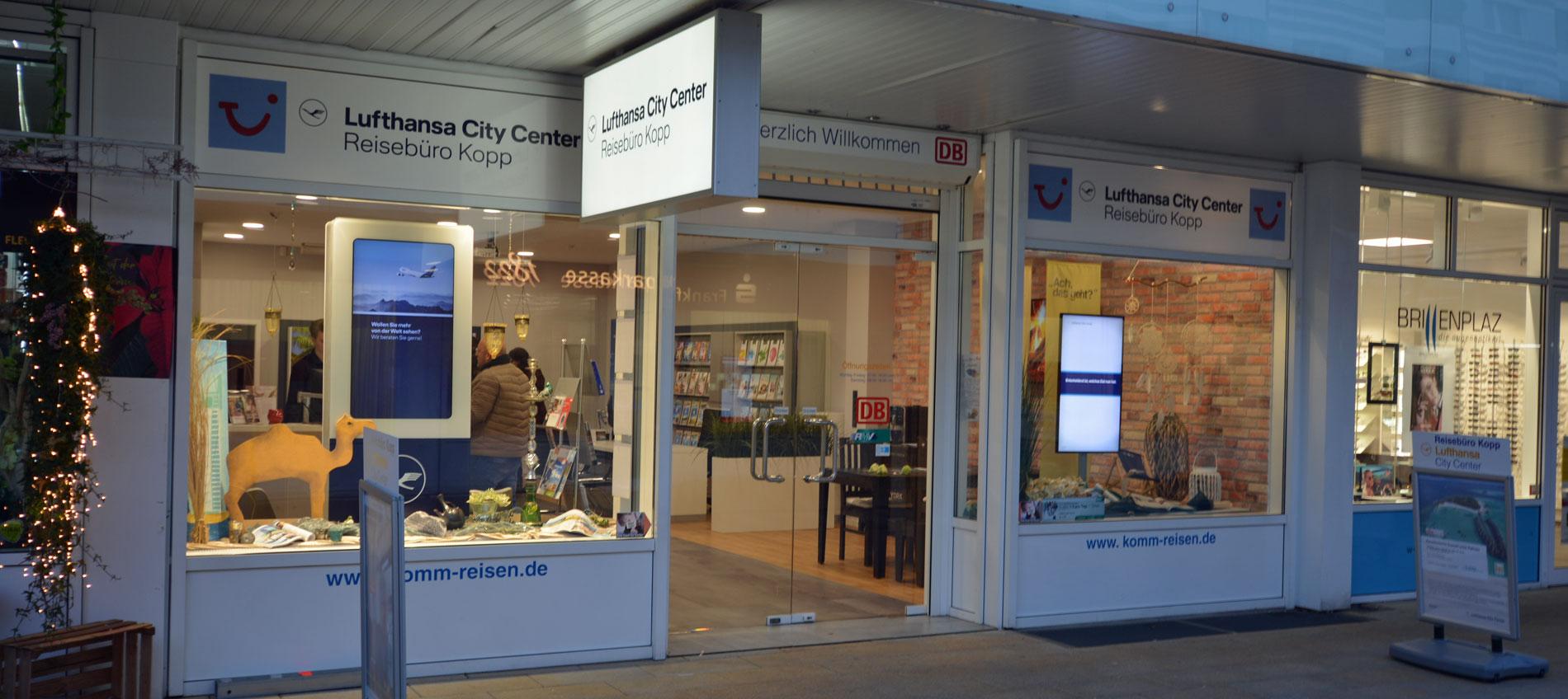 Reisebüro Kopp Schwalbach Ladenfront