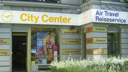 AirTravel Reiseservice Berlin Außenansicht