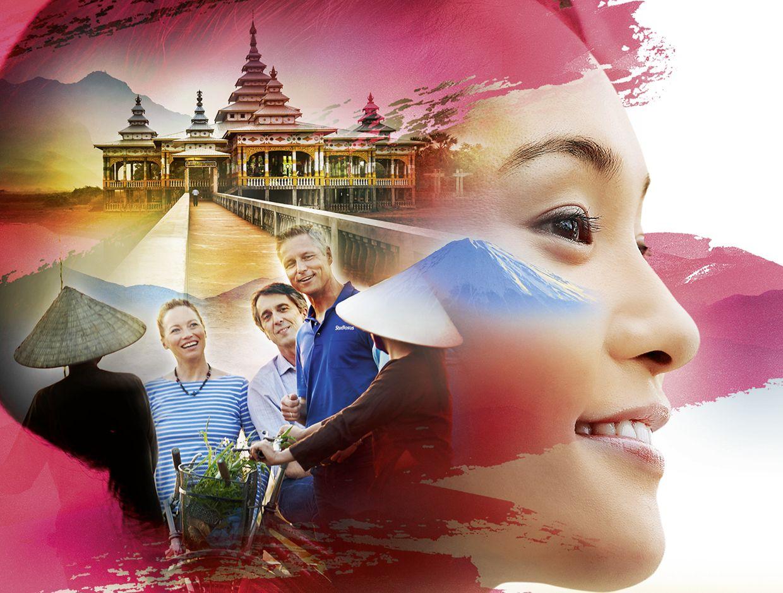 Collage Studiosus Asien