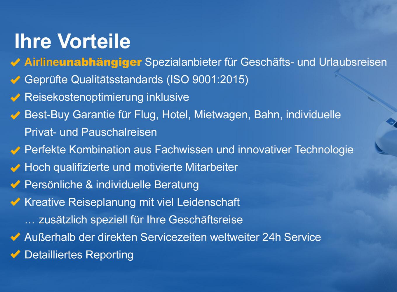Vorteile Dresdner Reisezentrum