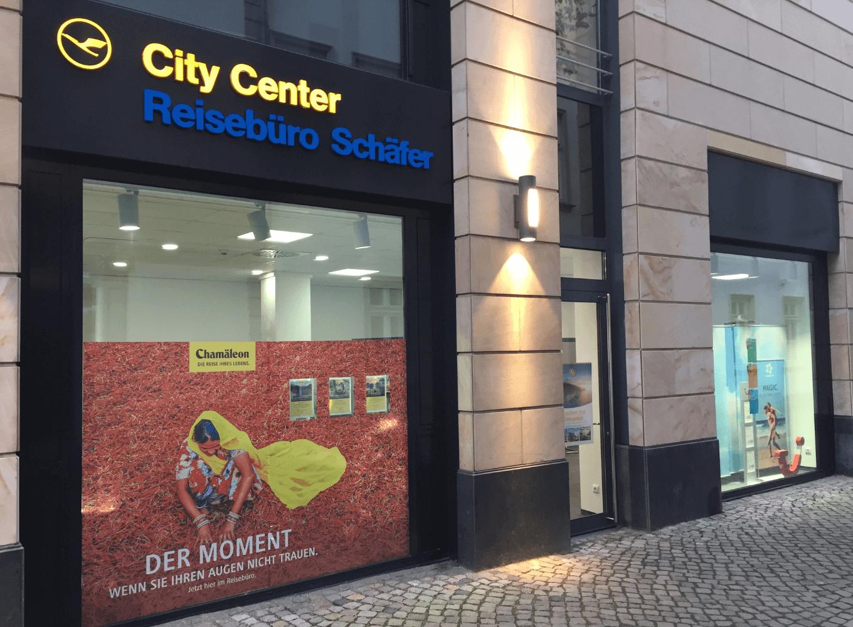 Reisebüro Schäfer außen 2