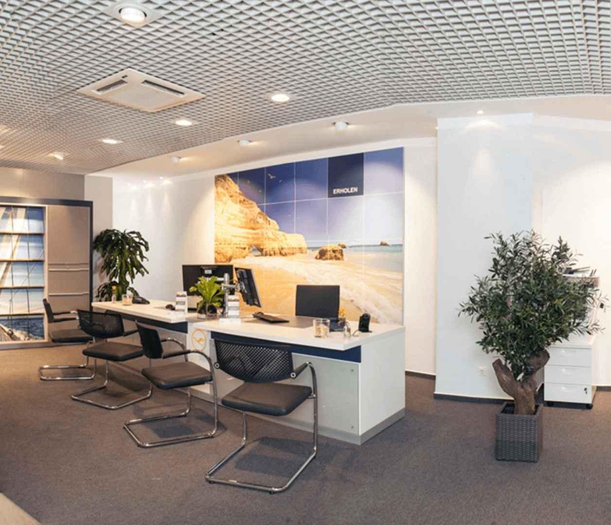 Reisebüro Schlagheck in Coesfeld, Innenansicht
