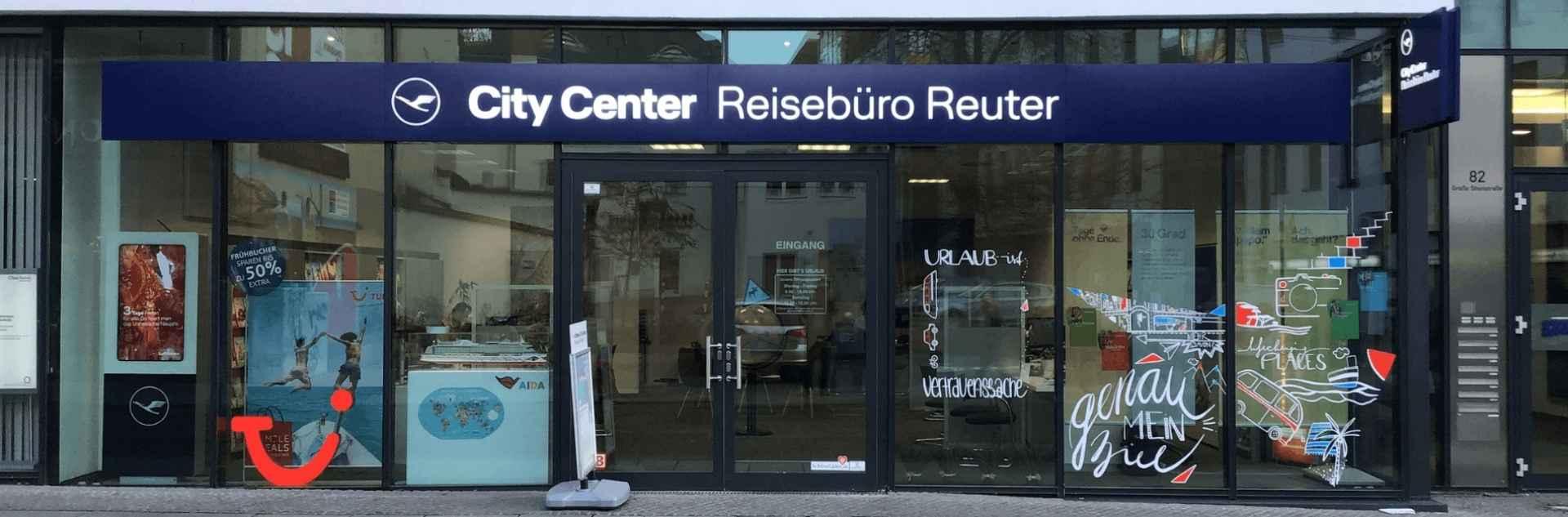 Reisebüro Reuter Halle Außenansicht