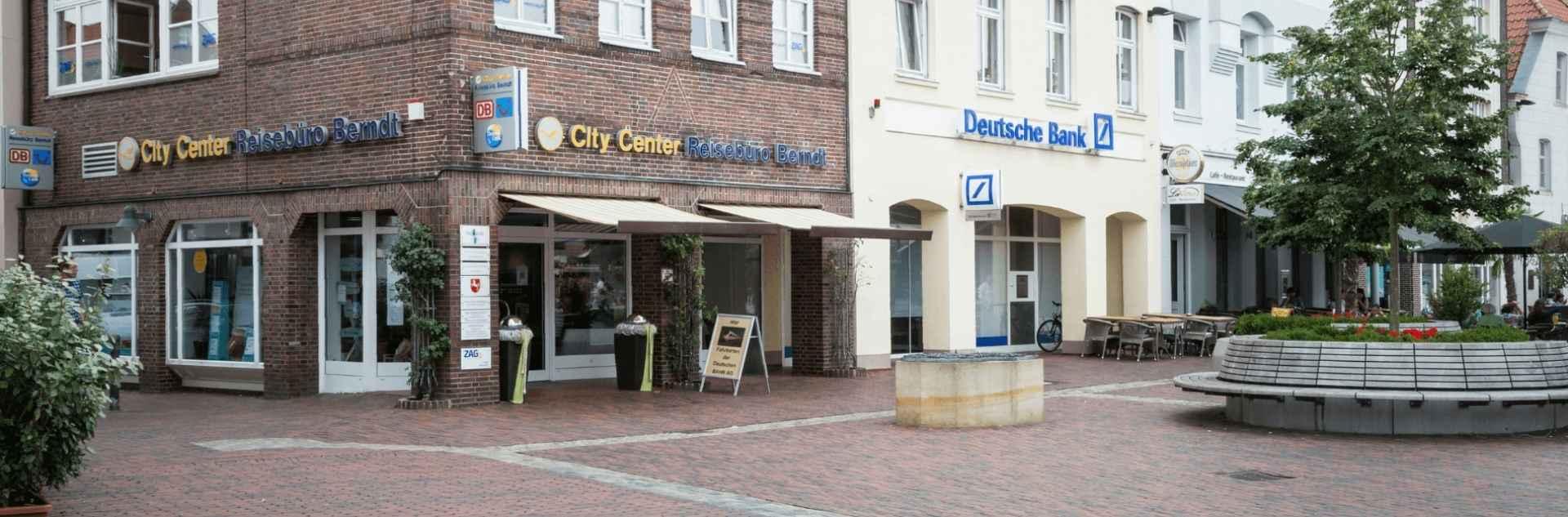 Reisebüro Berndt Lingen Außenansicht