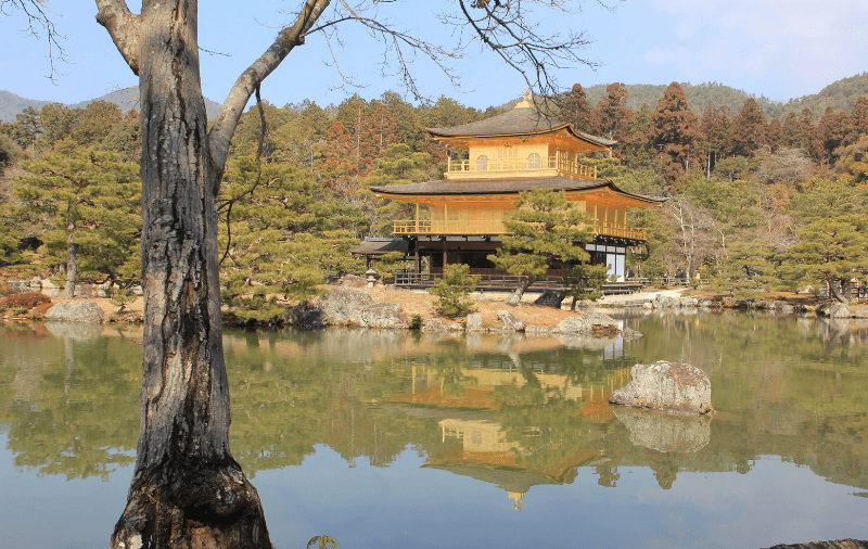 Goldene Pavillon in Kyoto