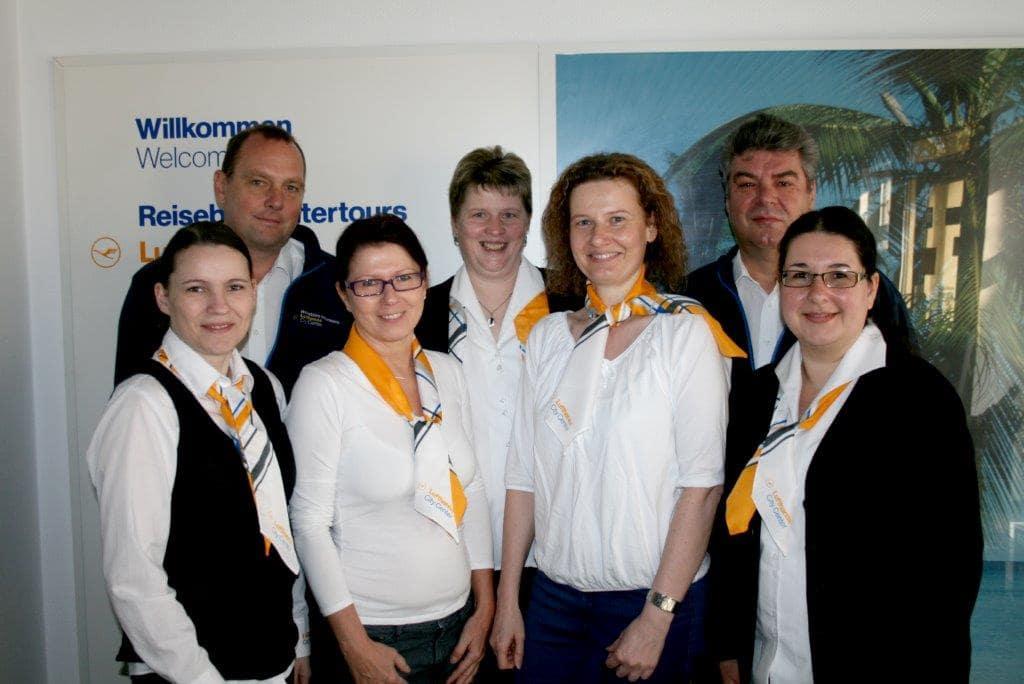 Reisebüro Interours Luckenwalde, Teambild