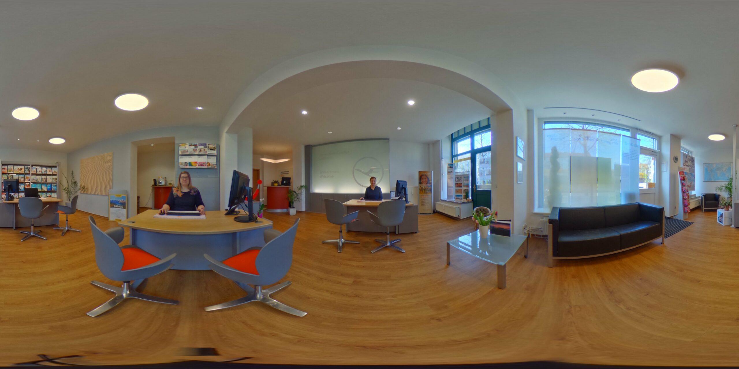 Sarea Reiseservice Dresden 360Grad Ansicht