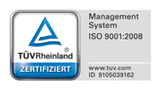 TÜV Rheinland Zertifiziert