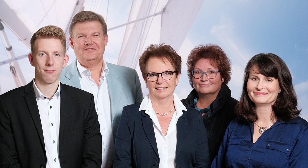 Lufthansa City Center Reisebüro Kreuzner Teamfoto