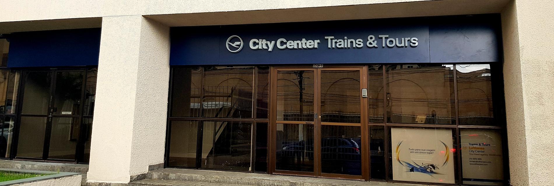 Lufthansa City Center Trains and Tours Sao Paulo