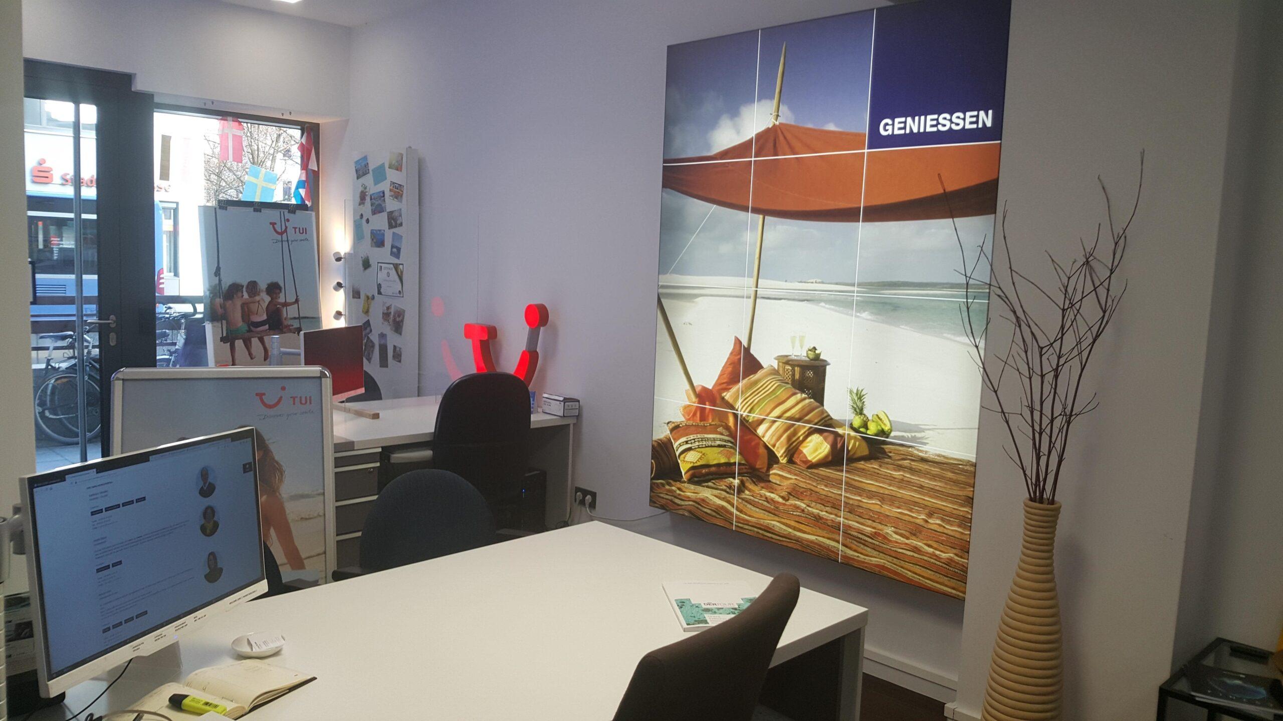 Reisebüro Isaria München Innenraum