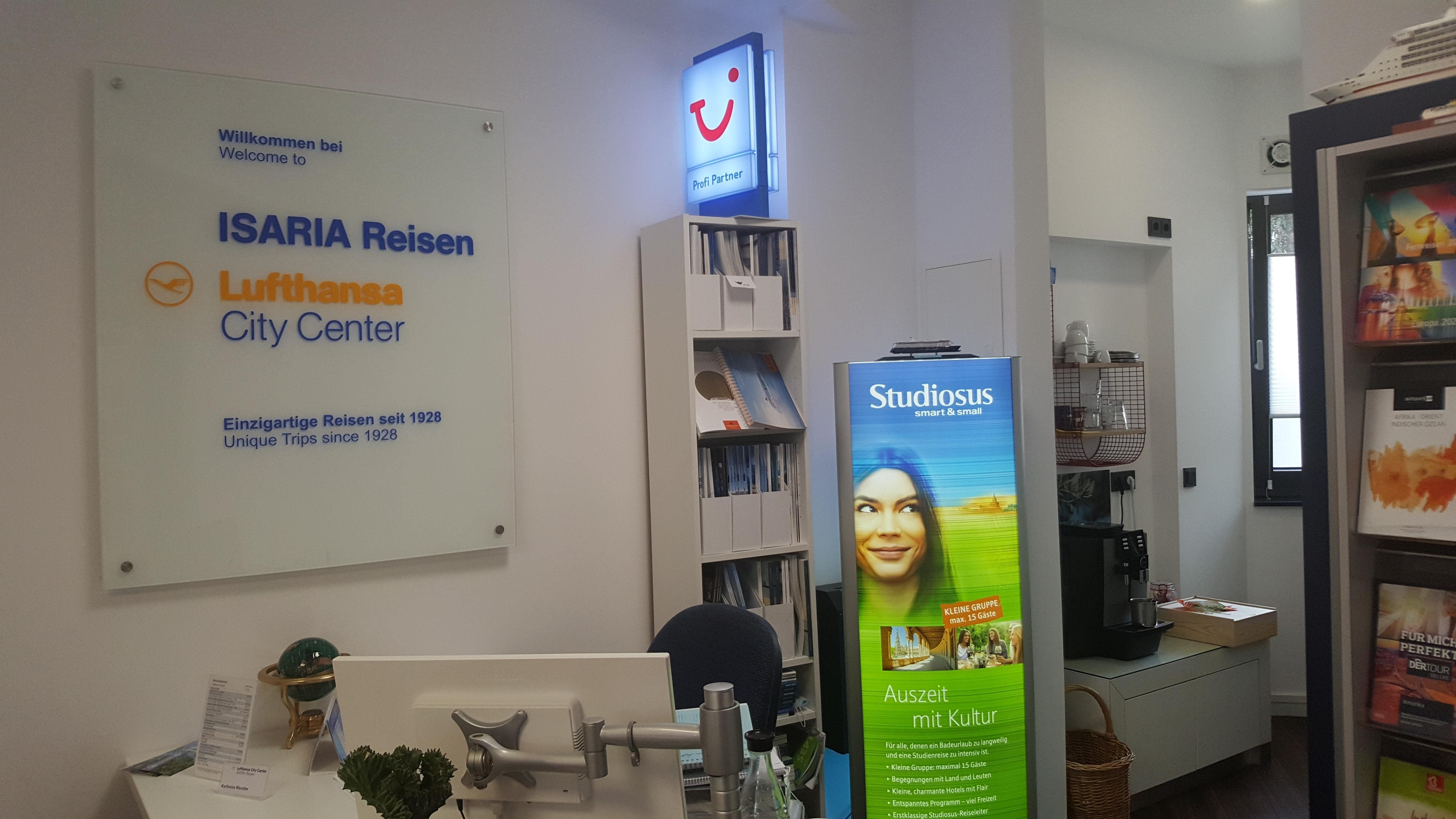 Reisebüro ISARIA Reisen Lufthansa City Center