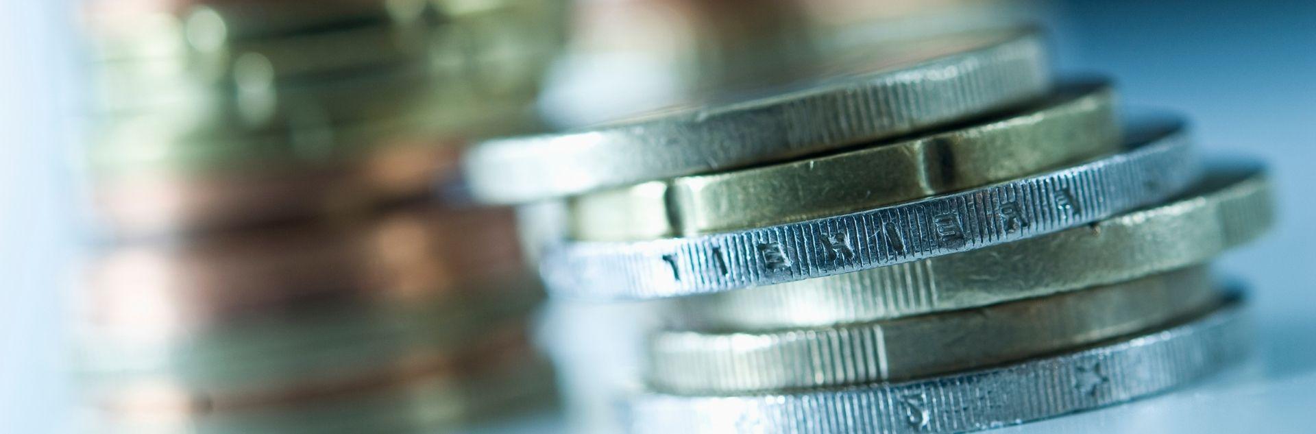 Reisekosten optimieren Euromünzen