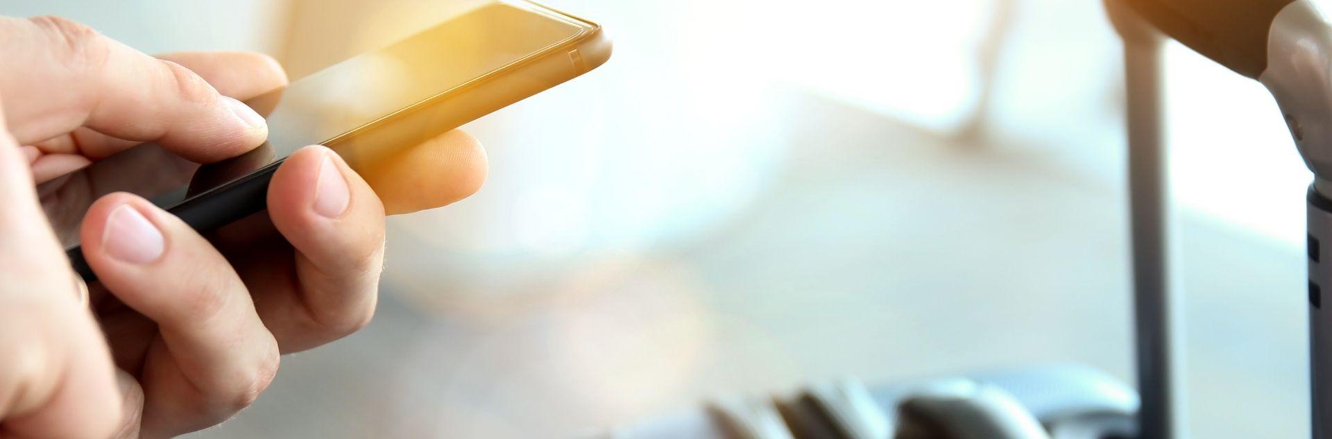 Reisen buchen per Smartphone