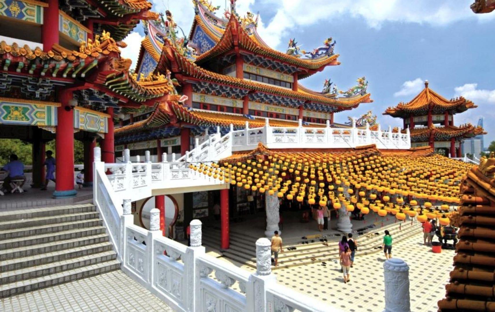 Chinesische Dekoration Restaurants und Läden