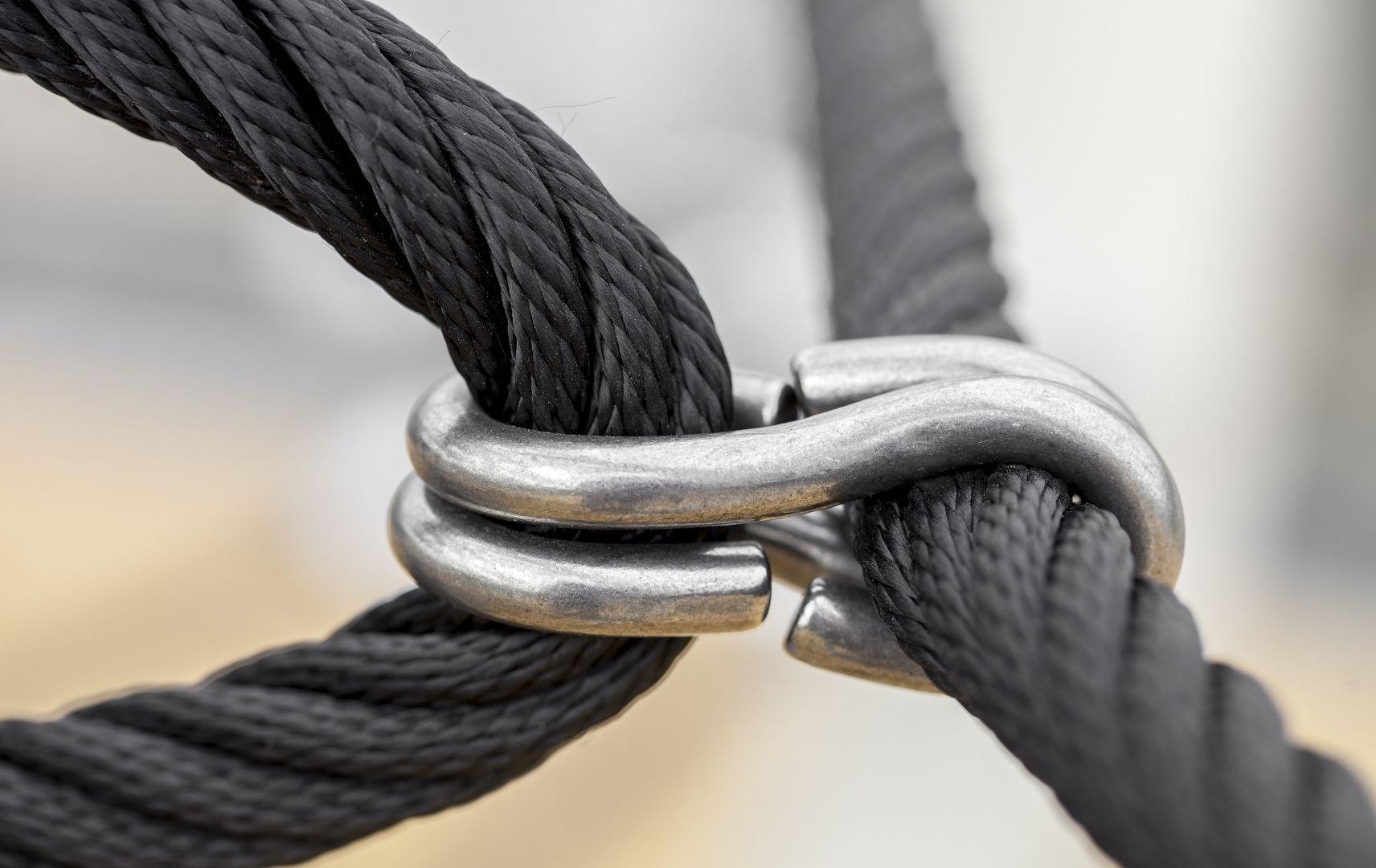 Weltweit kompetente Hilfe mit LCC Security Management Sicherheitshaken hält das Seil