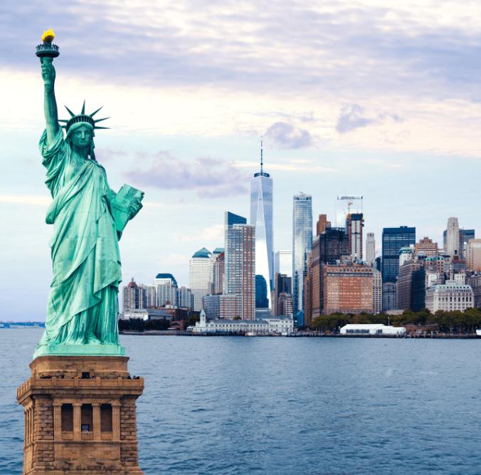 Freiheitsstatue Wahrzeichen von New York