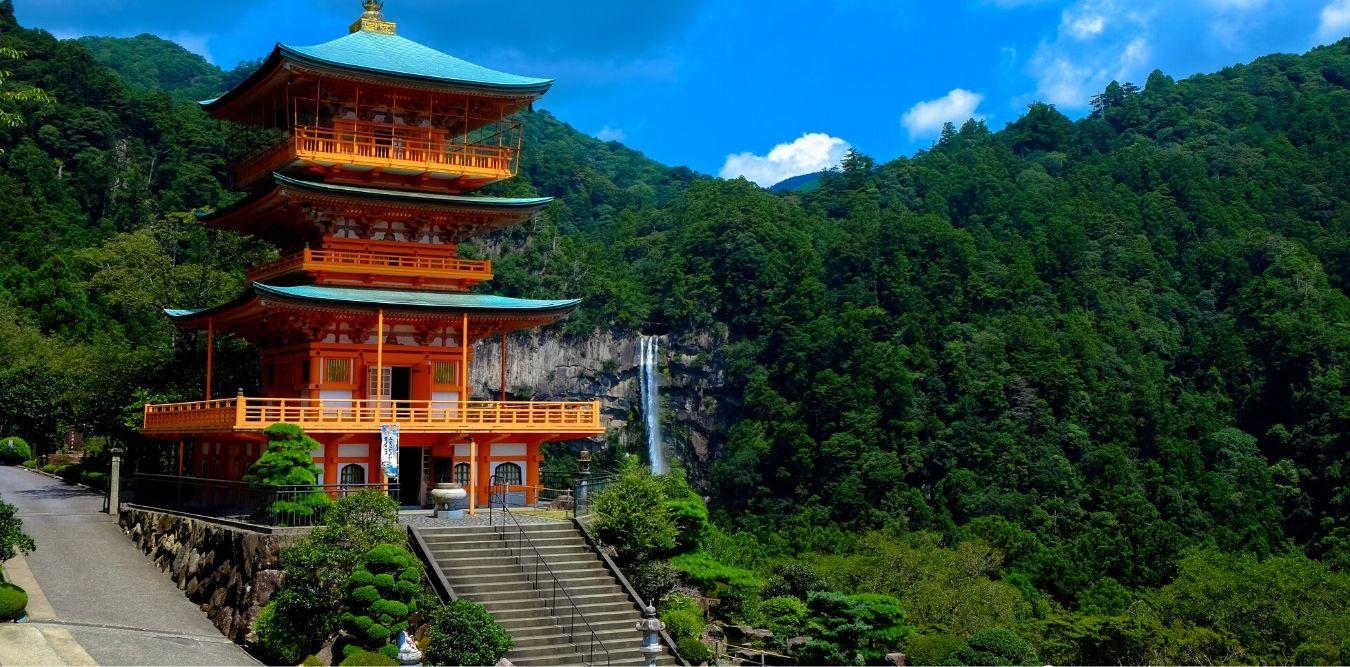 Tempel in den Bergen