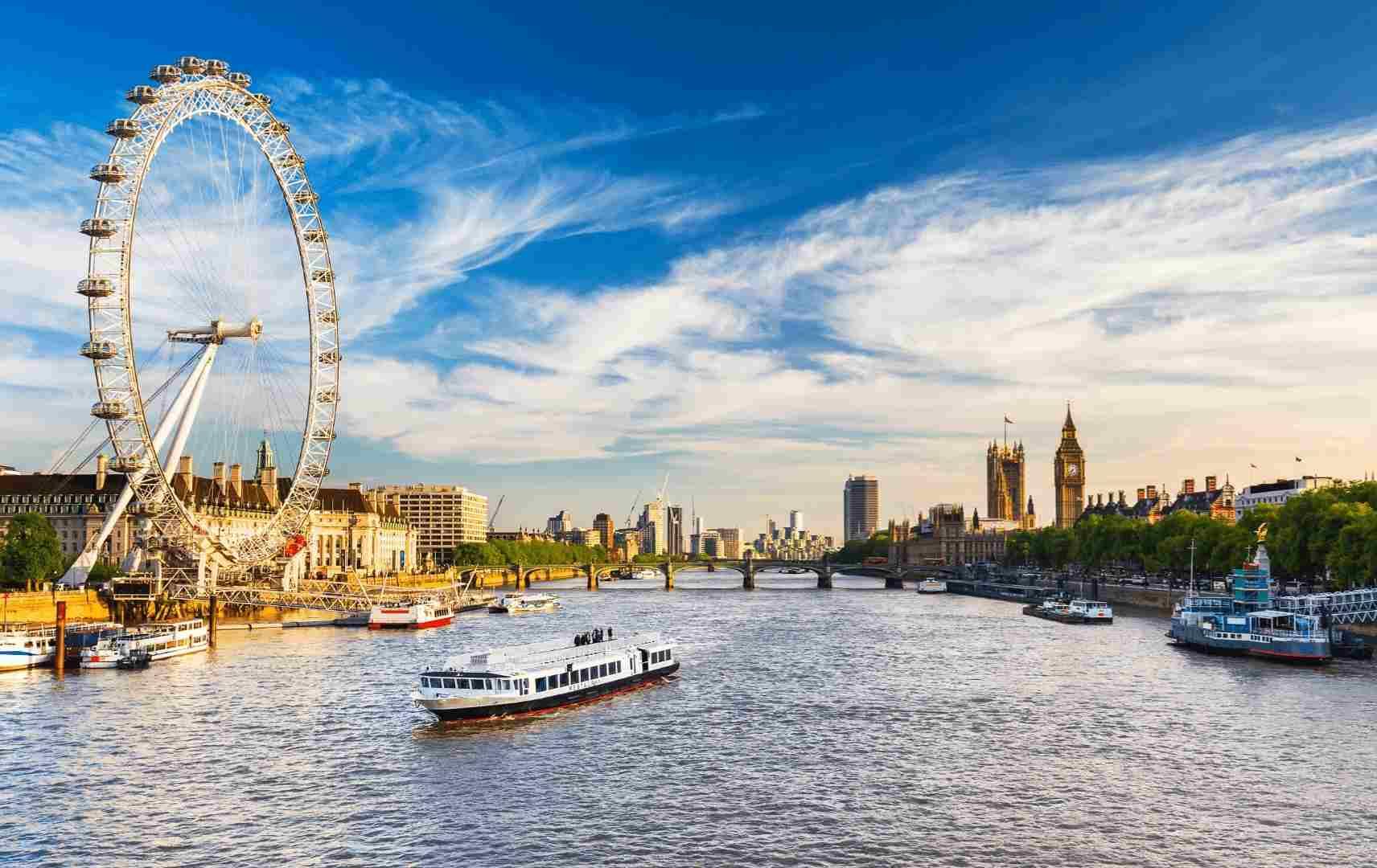 Big Ben London Eye Schiffe