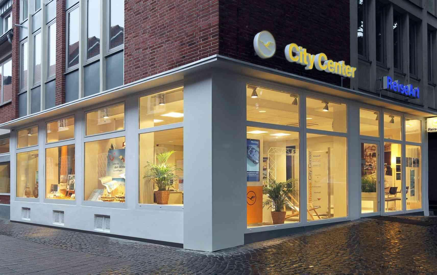 Reisebüro Reiseart 24 Münster Büro Außenansicht