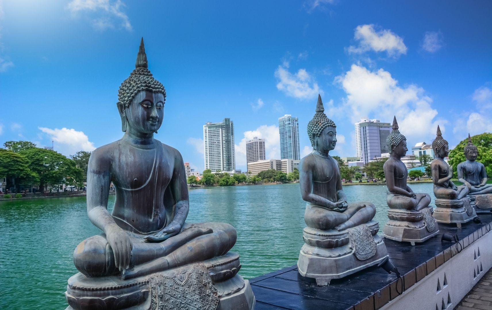Stadt Sri Lanka