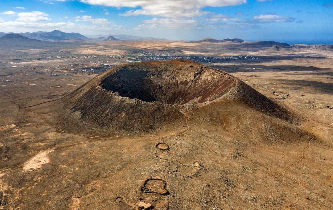 Kanaren - Vulkan Calderon Hondo