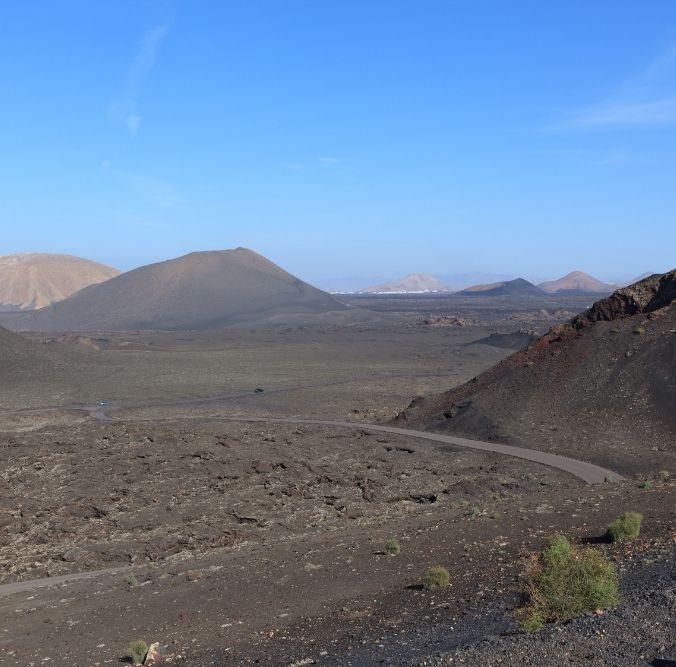 Kanaren - Timanfaya Berge