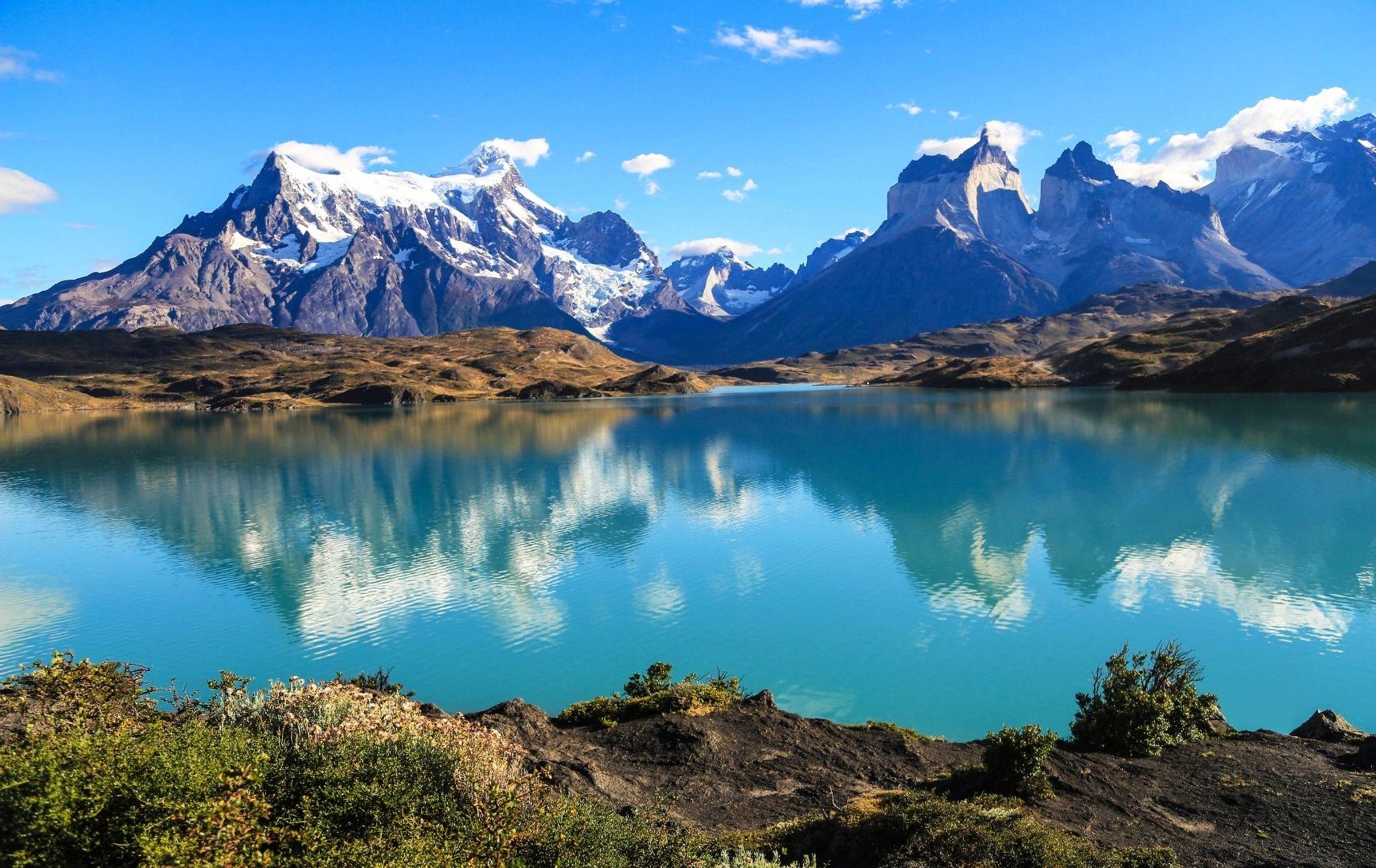 Chile, See und Berge