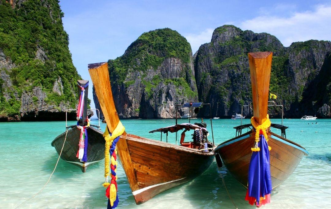 Fernreise Asien - Phuket Long Boat