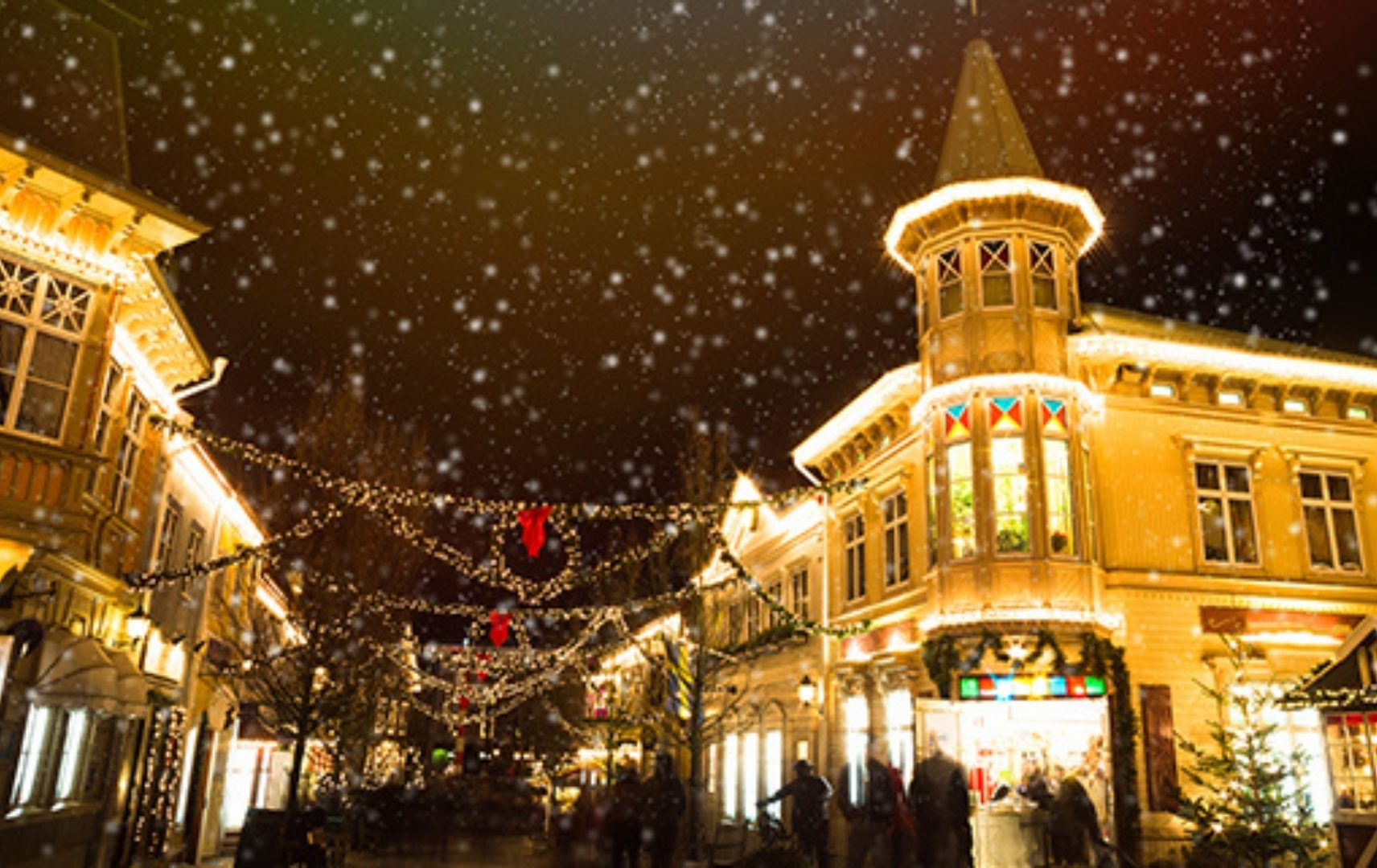 Göteborg an Weihnachten
