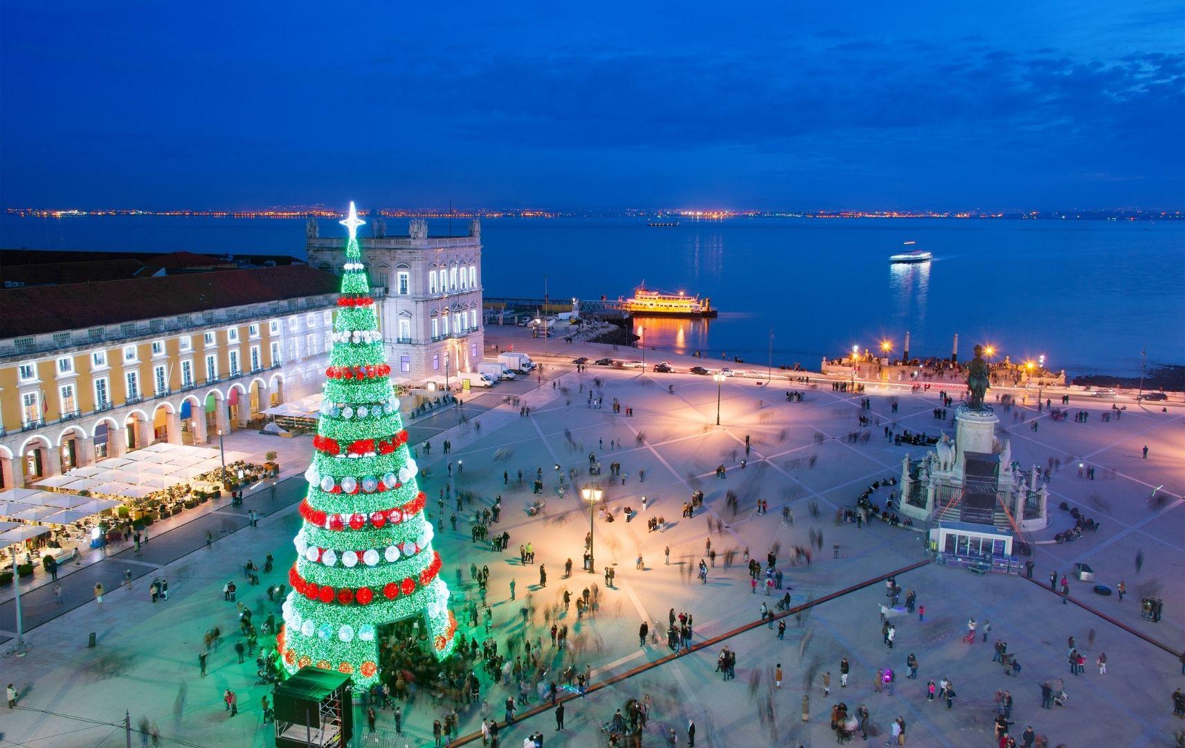 Weihnachtsbaum Lissabon