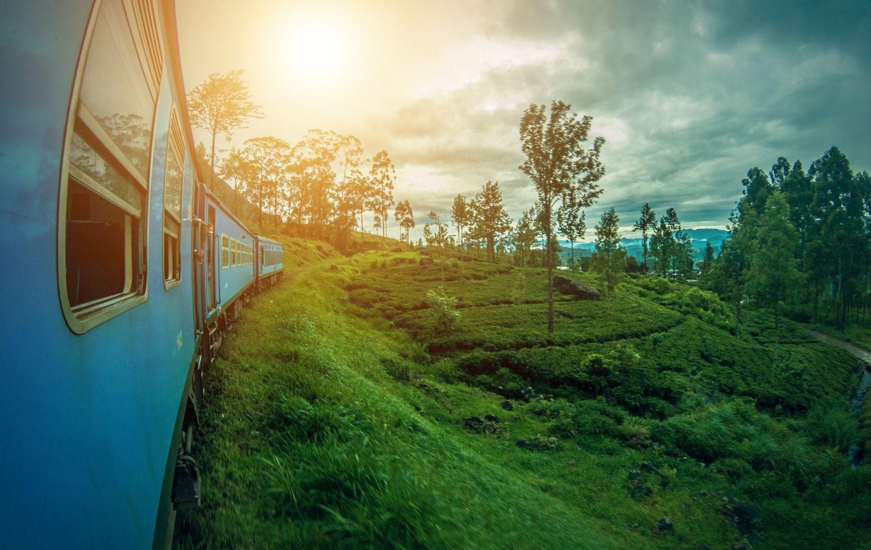 Express auf Sri Lanka