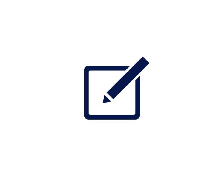 Icon Schreiben