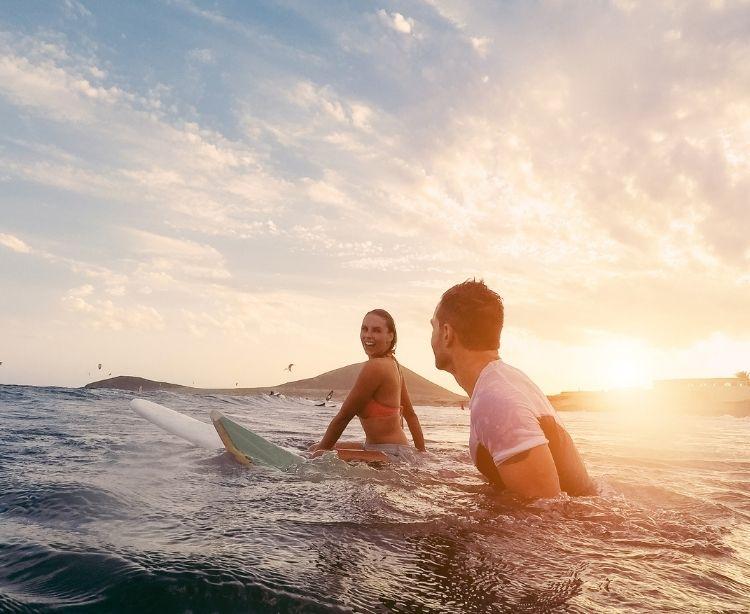 Fernreise Australien - Neuseeland Surfer