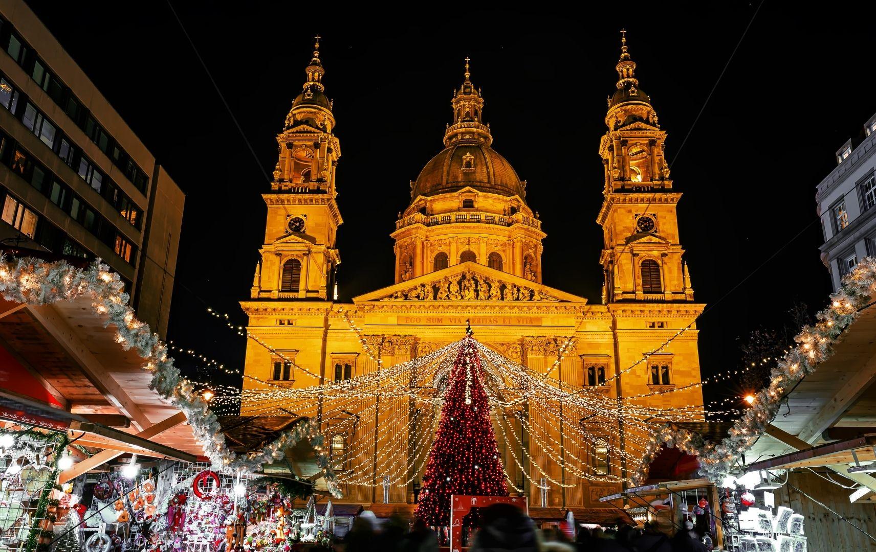 Weihnachten Budapest