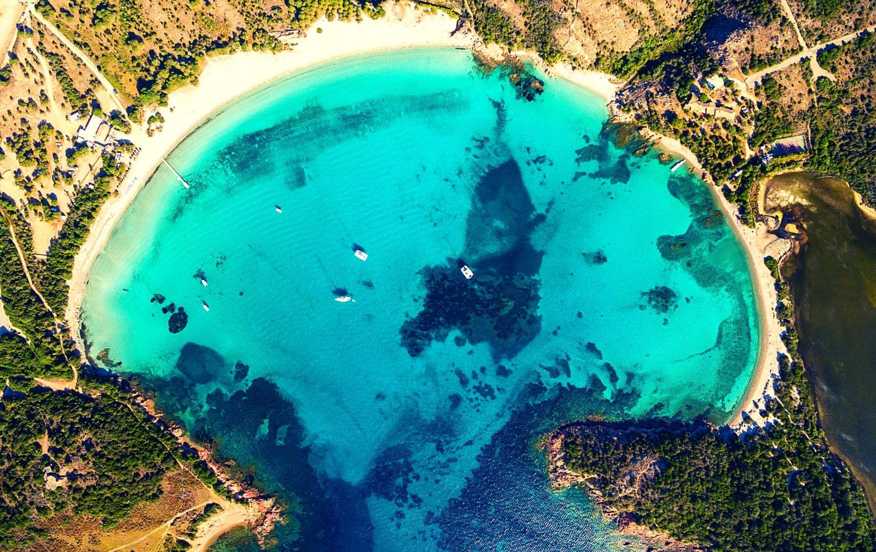 Korsika Frankreich Küste