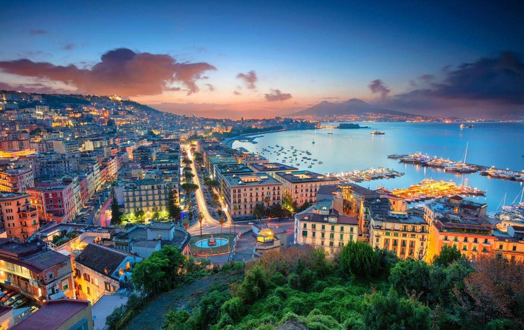 Hafen Neapel Italien
