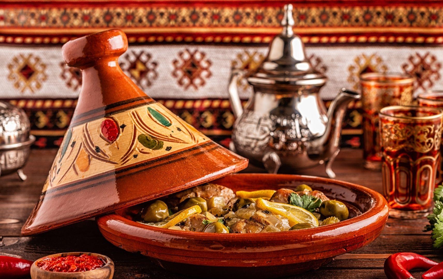 orientalische Tajine