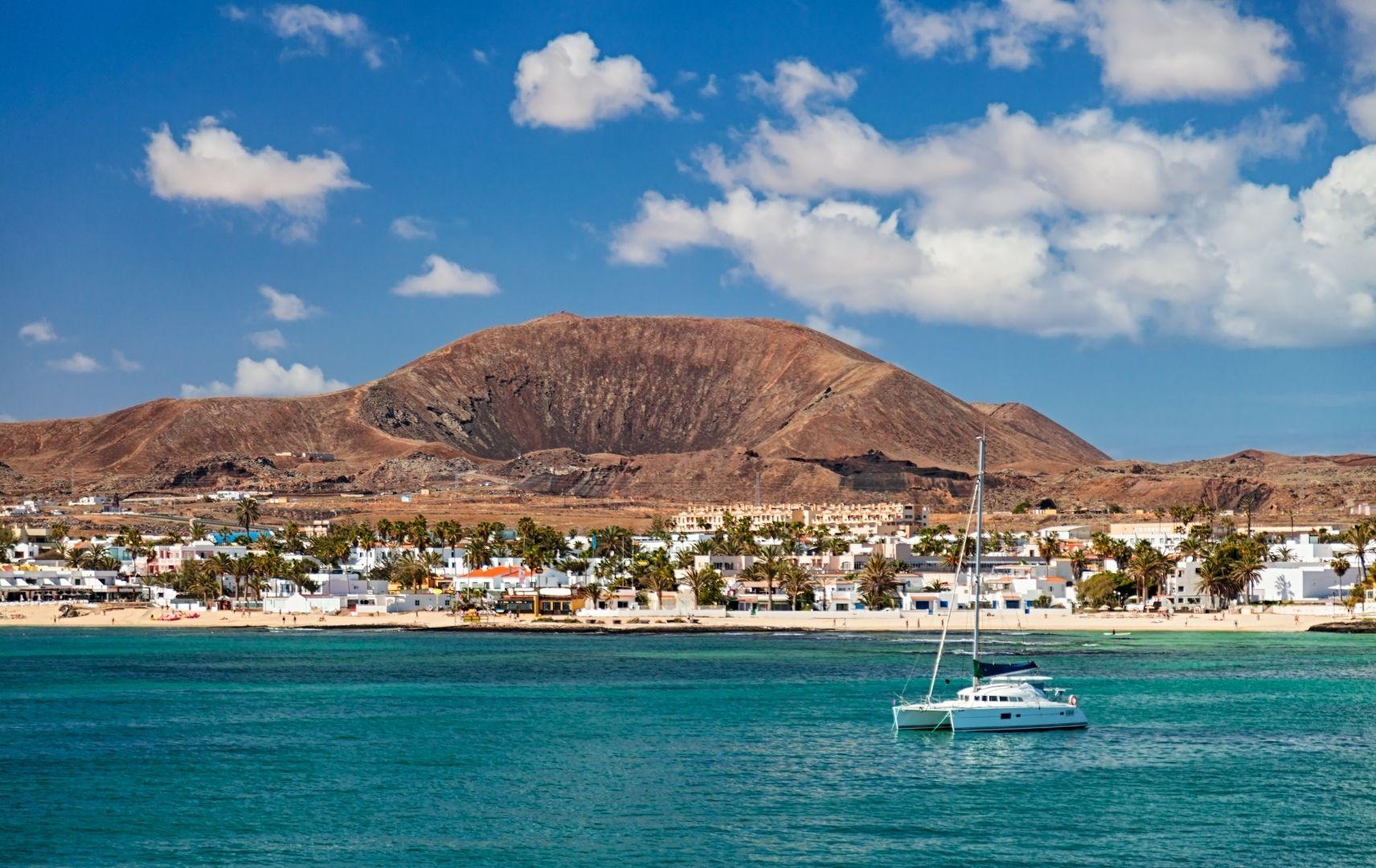 Reiseziel Spanien - Fuerteventura Strandbild