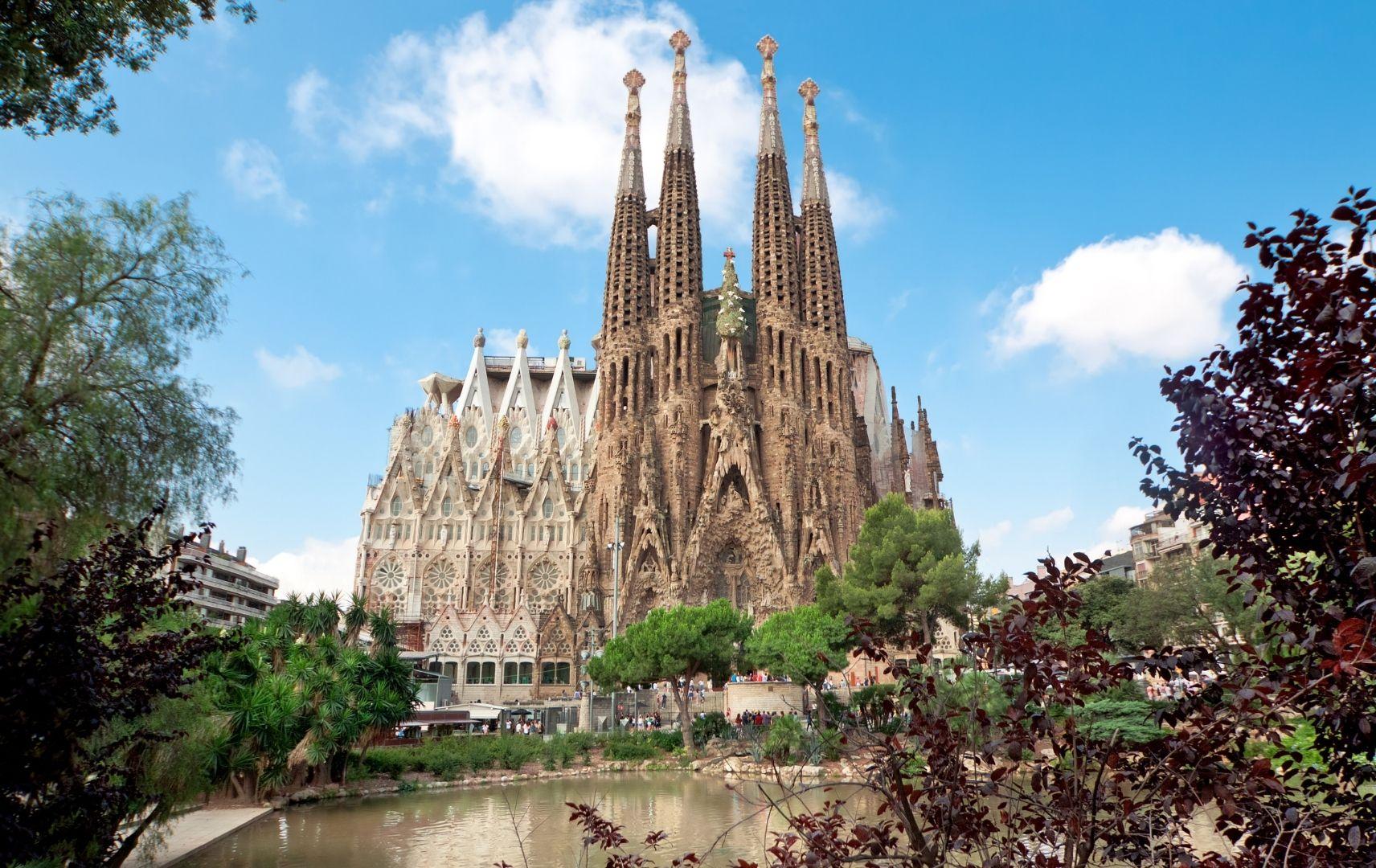 Spanien - Barcelona, Sagrada Familia