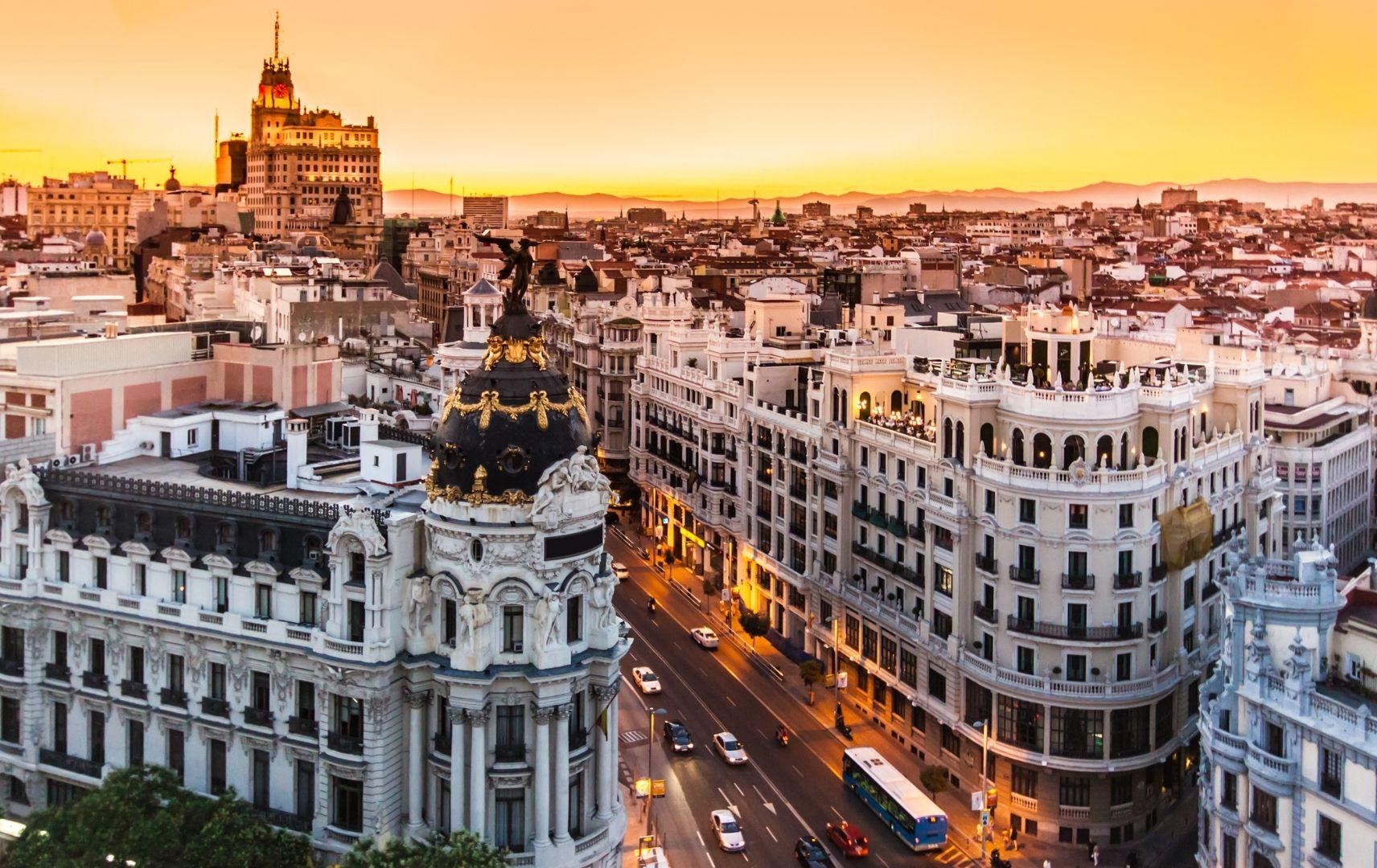 Spanien - Madrid, Innenstadt