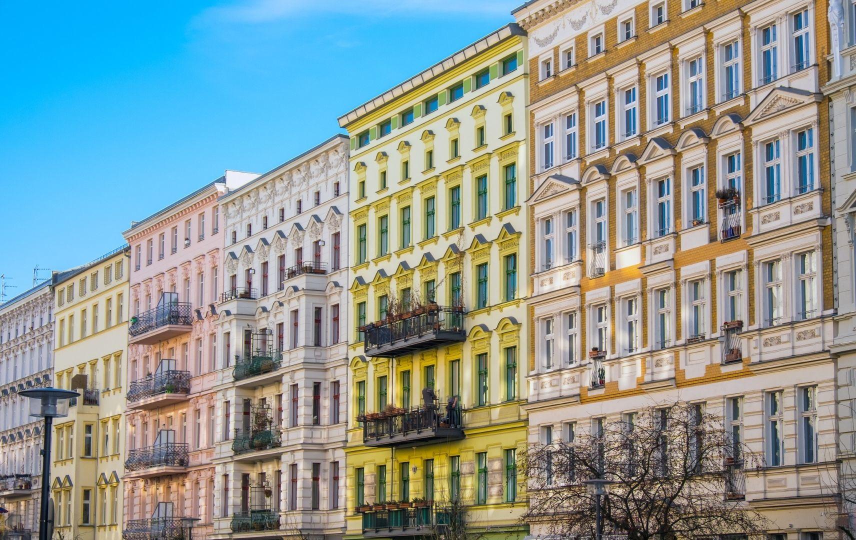Renovierte Stadthäuser in Berlin