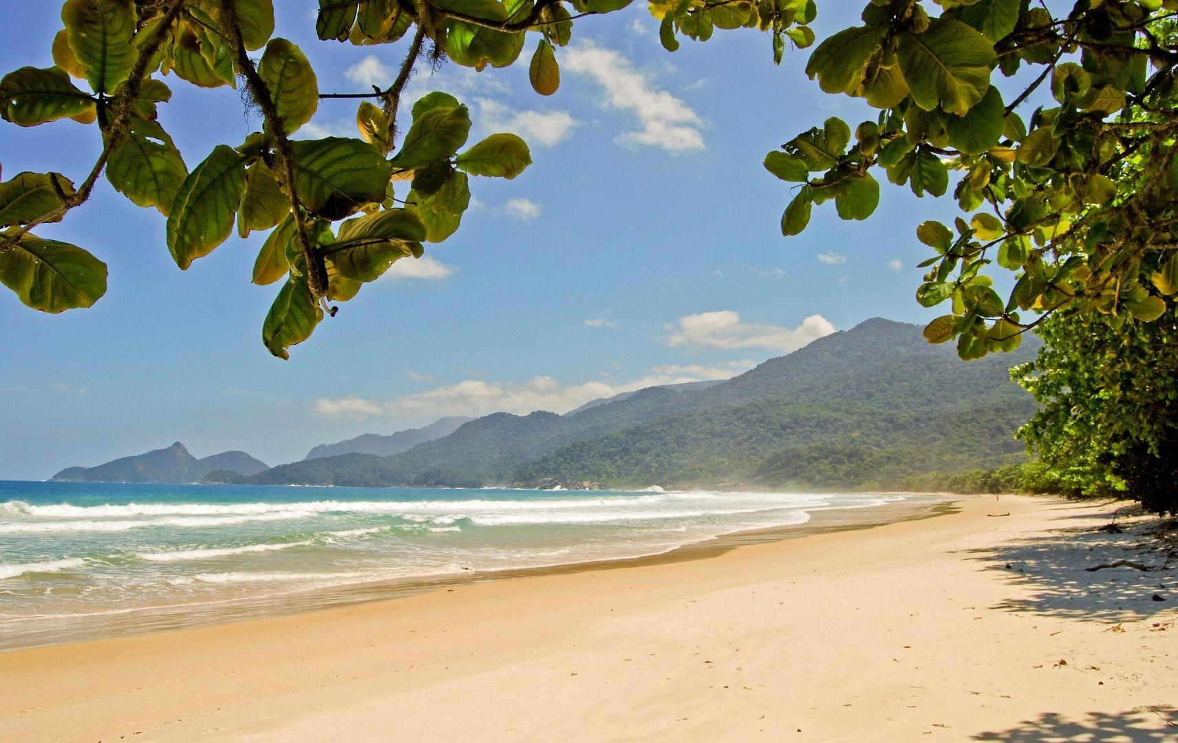 Brasilien - Ilha Grande, Lopes Mendes