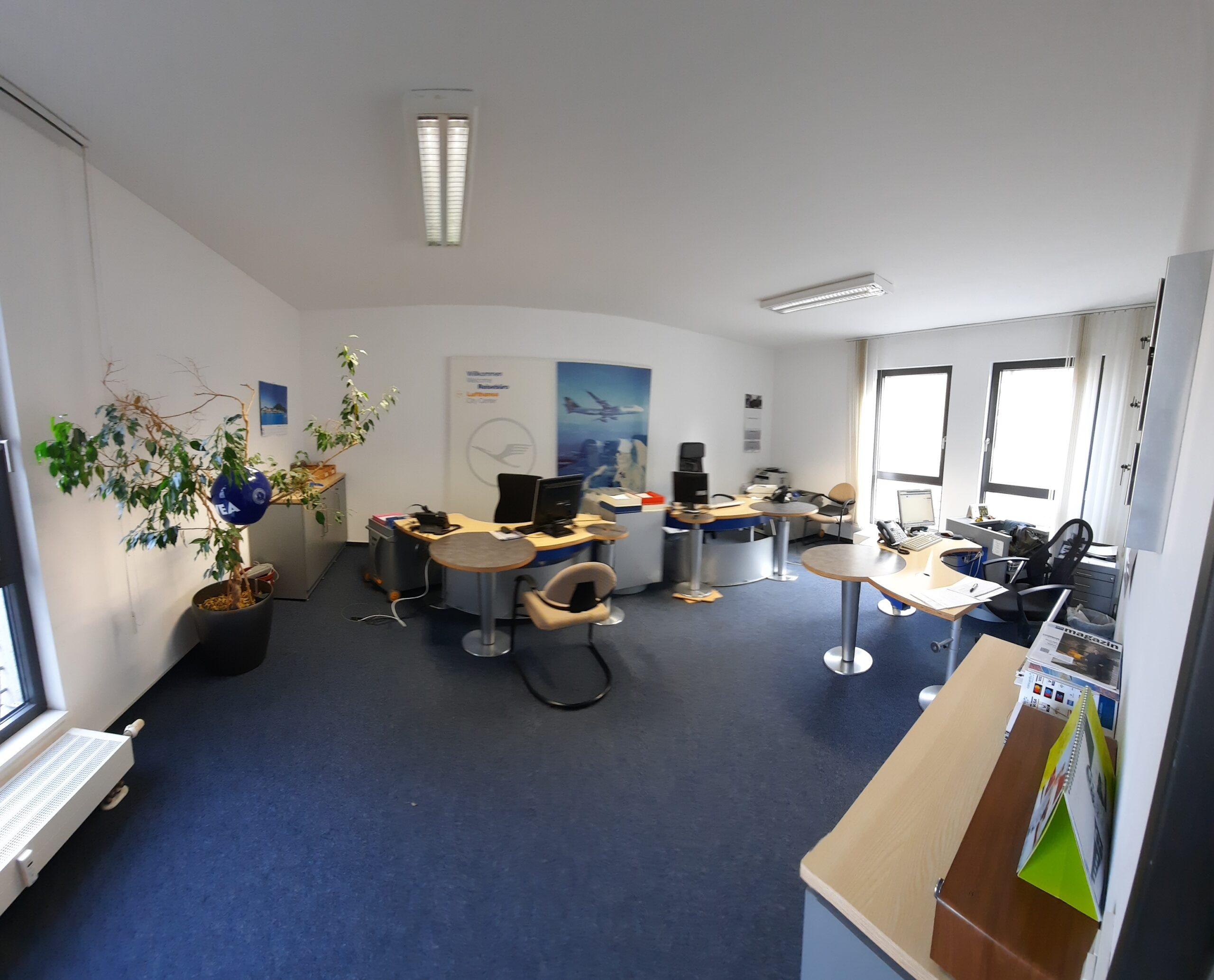 Lufthansa City Center Rhein Neckar Businesstravel Büroräume