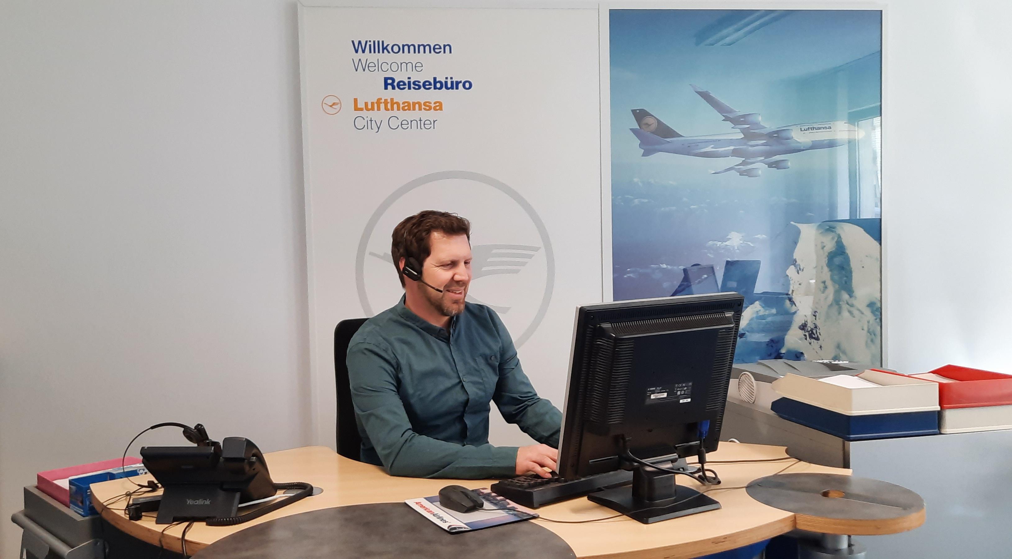 Lufthansa City Center Rhein Neckar Businesstravel Mitarbeiter