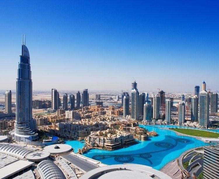 Dubai Skyline 750x614
