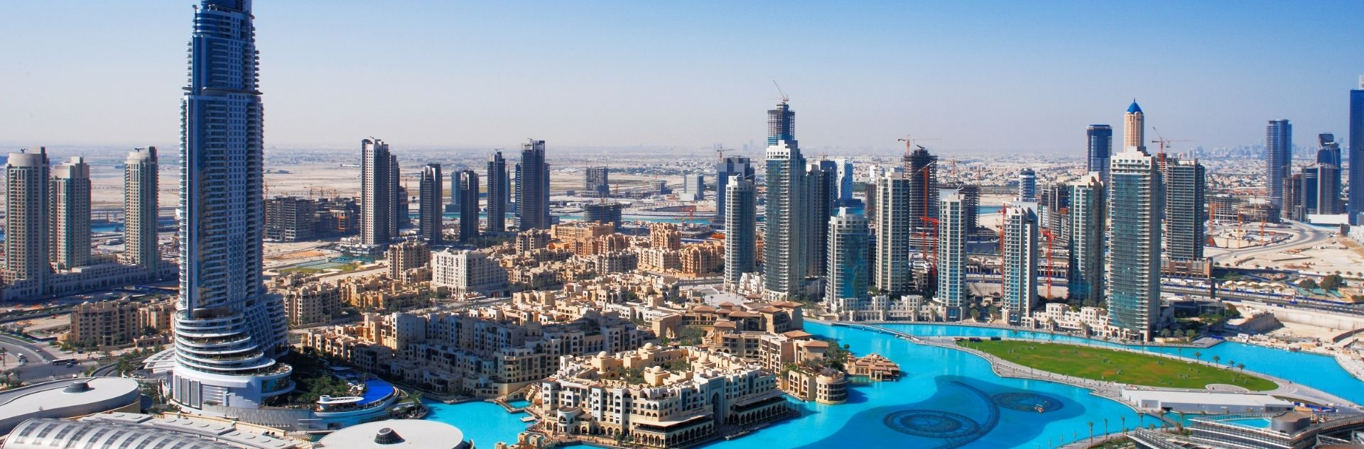 Dubai Skyline 1920x633
