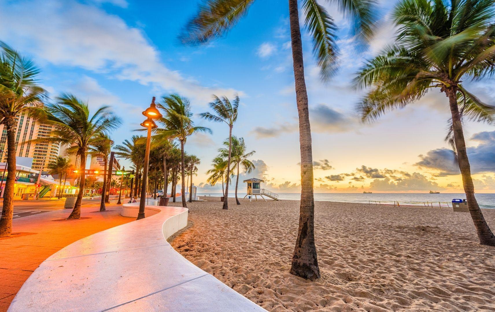 Fernreise USA - Florida Strand