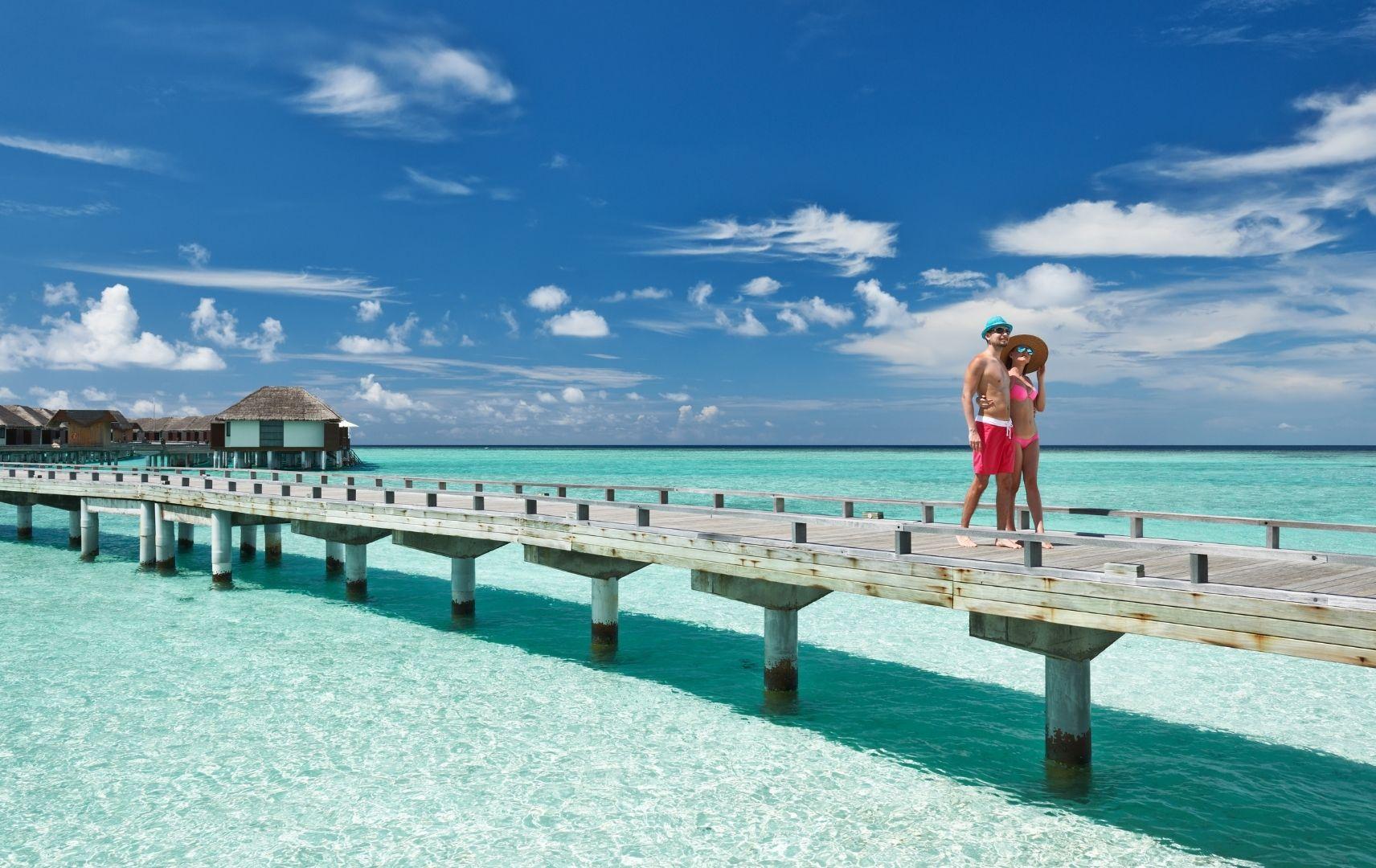 Fernreise - Malediven Paar