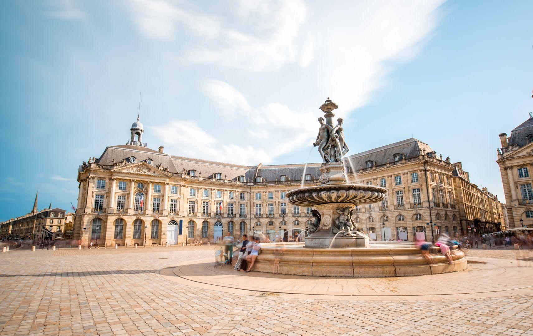 Frankreich - Borderaux Stadt